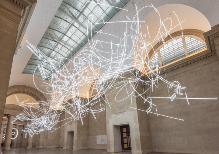 Cerith Wyn Evans:Forms in Space…by Light (in Time)